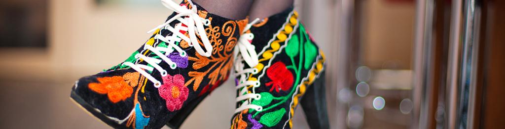 Banner Schuhe stylisch