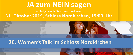 20. Women's Talk am 31. Oktober 2019